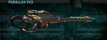 Indar scrub sniper rifle parallax vx3