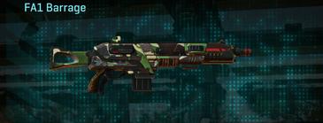 African forest shotgun fa1 barrage