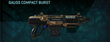 Indar plateau carbine gauss compact burst