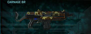 India scrub assault rifle carnage br