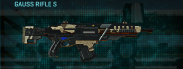 Indar scrub assault rifle gauss rifle s