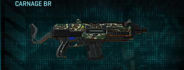 Scrub forest assault rifle carnage br