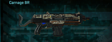 Arid forest assault rifle carnage br