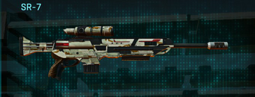 California scrub sniper rifle sr-7