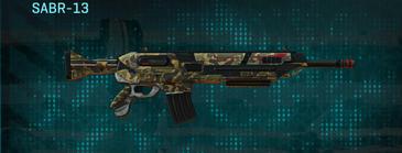 Indar highlands v1 assault rifle sabr-13