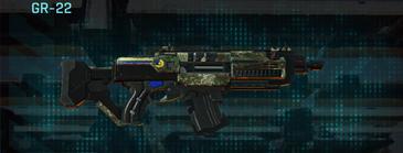 Pine forest assault rifle gr-22