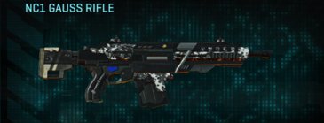 Snow aspen forest assault rifle nc1 gauss rifle