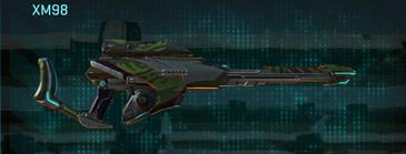 Amerish leaf sniper rifle xm98