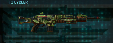 Jungle forest assault rifle t1 cycler