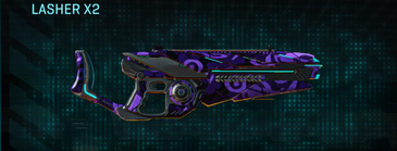 Vs alpha squad heavy gun lasher x2