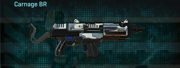 Esamir ice assault rifle carnage br