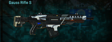 Esamir ice assault rifle gauss rifle s