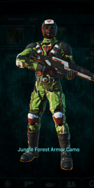 Tr jungle forest combat medic