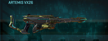 Temperate forest scout rifle artemis vx26
