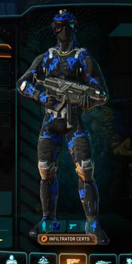 Nc loyal soldier camo infiltrator