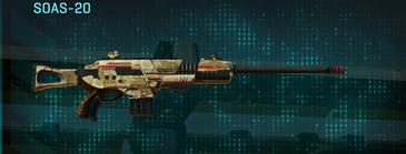 Sandy scrub scout rifle soas-20