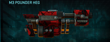 Tr alpha squad max m3 pounder heg