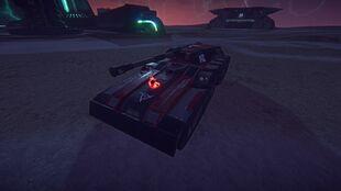 Lightning PlanetSide Decal