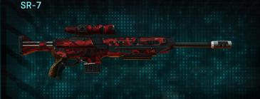 Tr alpha squad sniper rifle sr-7