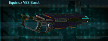 Clover assault rifle equinox ve2 burst