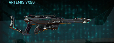 Indar dry brush scout rifle artemis vx26