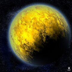 Sulfur planet