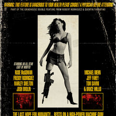 Planet Terror poster - Consult A Physician....