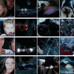 Death Proof crash sequence.
