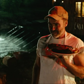 J.T. with BBQ.
