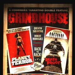 Grindhouse film poster.