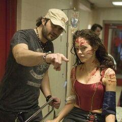 Robert directs Rose.
