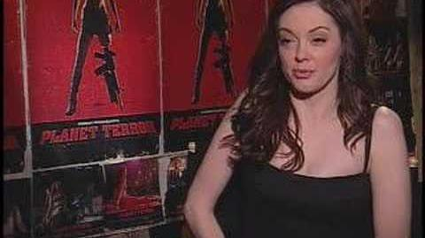 Rose McGowan for 'Grindhouse Planet Terror Death Proof