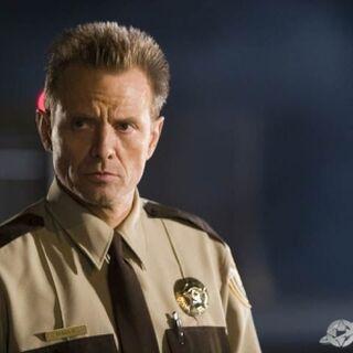 Sheriff Hague in Planet Terror.