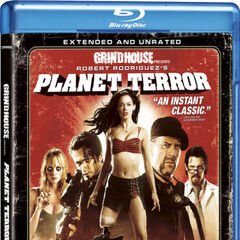 Planet Terror Blu-ray.