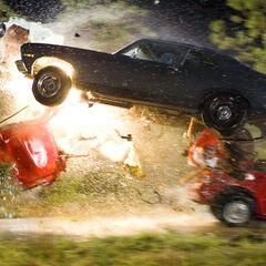A screenshot of the crash.