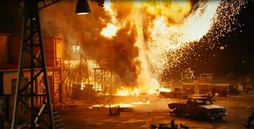 Military base explodes
