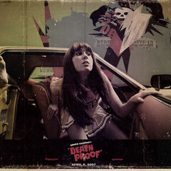 Death Proof character poster.