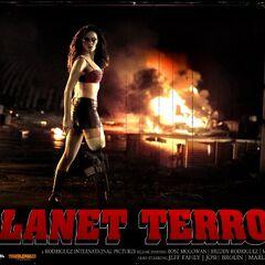 Planet Terror wallpaper.