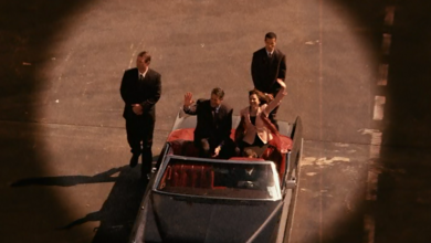 Senator's car