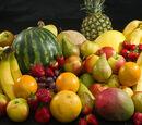 Lista fructelor