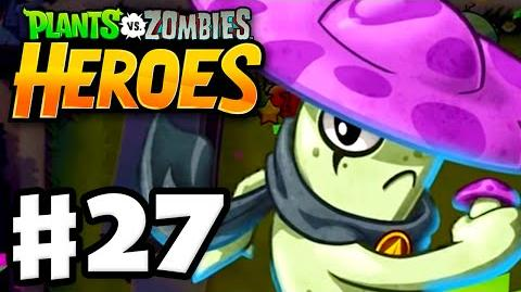 Plants vs. Zombies- Heroes - Gameplay Walkthrough Part 27 - Mushroom-Fu Fight! (iOS, Android)