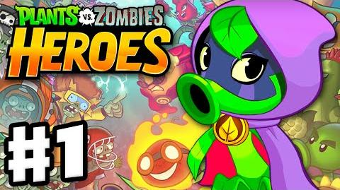 Plants vs. Zombies- Heroes - Gameplay Walkthrough Part 1 - Green Shadow Hero & Intro! (iOS, Android)