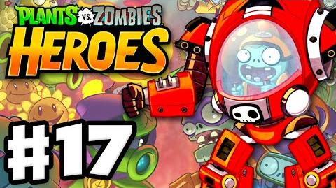 Plants vs. Zombies- Heroes - Gameplay Walkthrough Part 17 - Z-Mech! (iOS, Android)