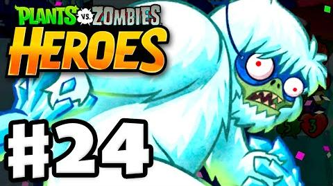 Plants vs. Zombies- Heroes - Gameplay Walkthrough Part 24 - Zombies on Ice! (iOS, Android)