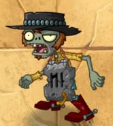 Poncho Zombie Metal Third Degrade