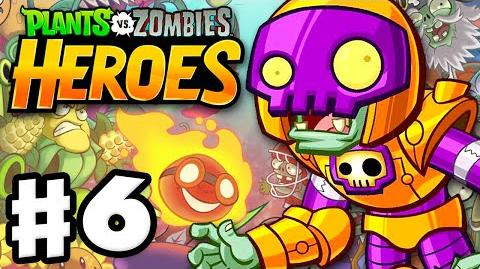 Plants vs. Zombies- Heroes - Gameplay Walkthrough Part 6 - Rustbolt! (iOS, Android)