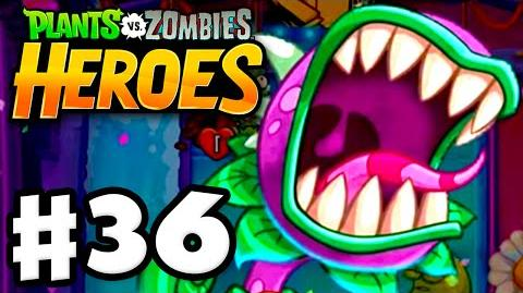 Plants vs. Zombies- Heroes - Gameplay Walkthrough Part 36 - Return of Chompzilla! (iOS, Android)
