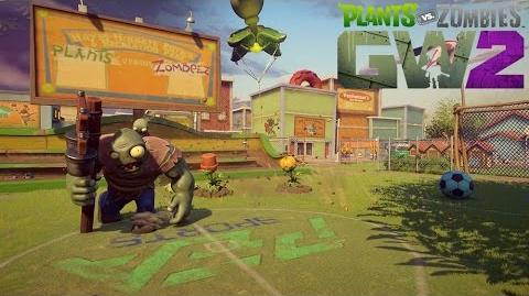 Plants vs. Zombies Garden Warfare 2 Gameplay Mode Front du Jardin