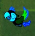 1Blue Parrot