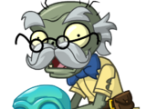 Zombie Crâne Bleu